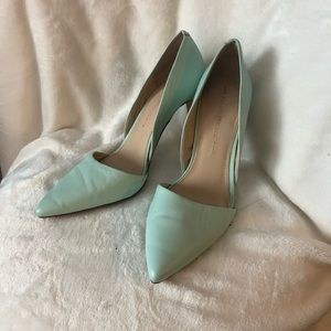 Banana Republic Mint D'Orsay Pumps